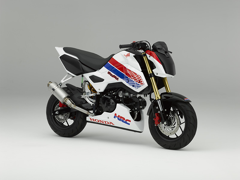 HRC to produce racing base version of GROM(MSX125)