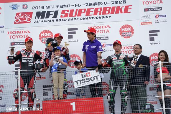 画像: 2016MFJ SUPERBIKE Rd2 NGK SPARK PLUGS SUZUKA 2&4 Race