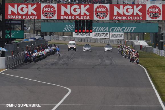 画像: Le Mans start www.mfj.or.jp