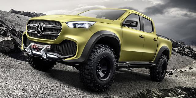 画像: Mercedes Pickup Truck Concept: Here it Is