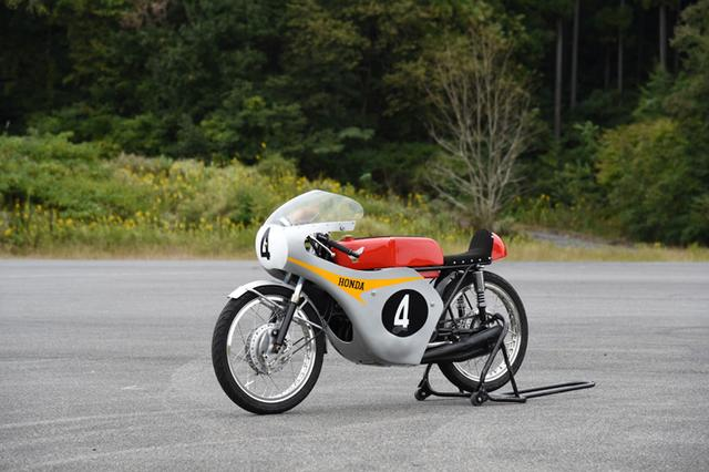 画像: 4RC146 (1965) 124.9cc 4 stroke 4 cylinders 4 valves 28PS@18,000rpm www.honda.co.jp