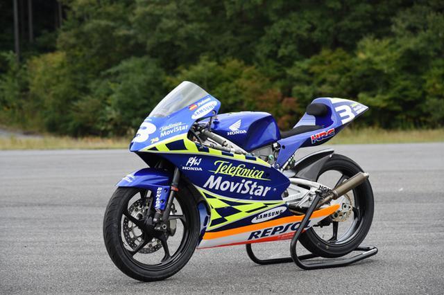 画像: RS125RW(2003) 124cc wining 131 races in World Gran-Prix . Dani Pedrosa won title in 2003 on this machine www.honda.co.jp
