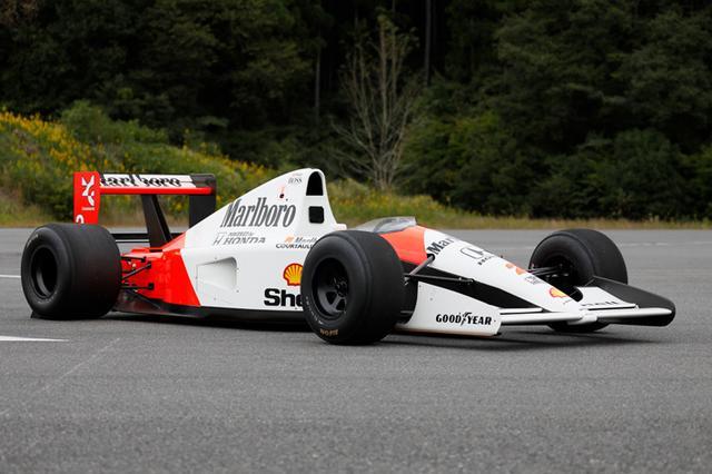 画像: MP4/6 (1991) 3,498cc 4 stroke V12 engine over 735PS@13,500rpm Ayrton Senna won title in 1991 www.honda.co.jp