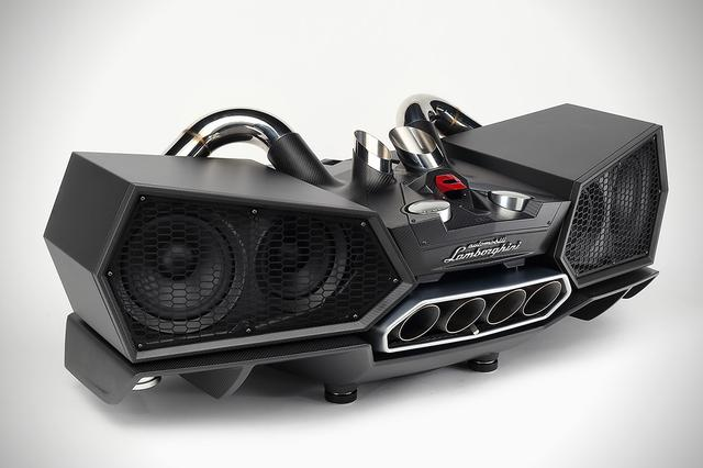画像: ESAVOX - a Jaw Dropping Lamborghini Inspired Speaker Dock