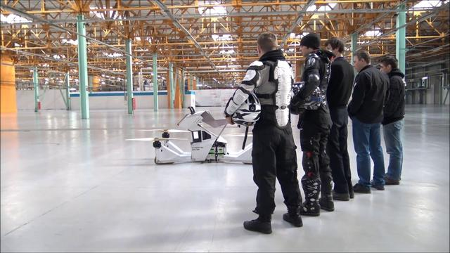 画像: Hoverbike Scorpion-3 TRAILER 2017 www.youtube.com