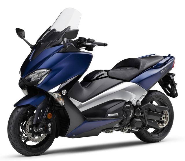 画像: YAMAHA TMAX530 DX ABS Matte Dark Purplish Blue Metallic 1 www.autoby.jp