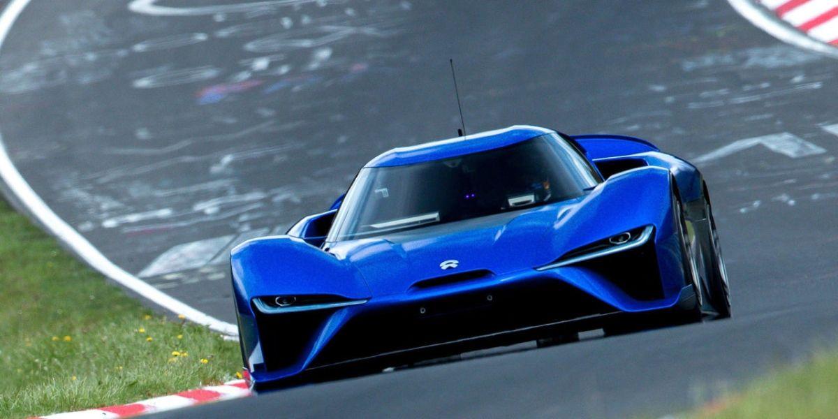 画像: Watch the All-Electric NIO EP9 Shatter the Nurburgring Lap Record