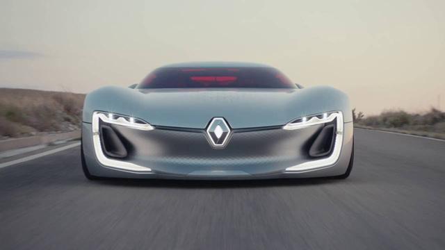 画像: Renault TREZOR : une GT électrique I Renault youtu.be