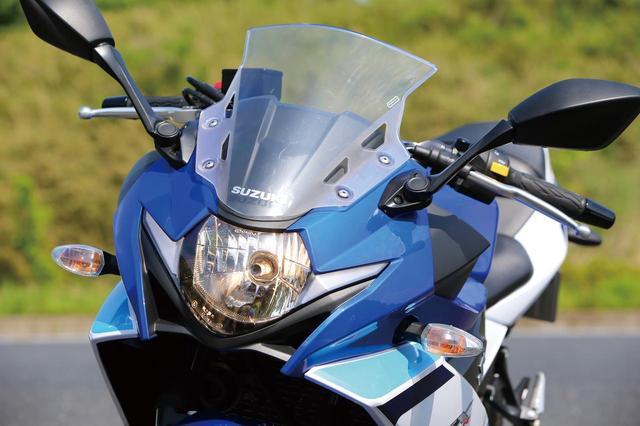 画像: The GSX-R look LED headlight www.autoby.jp