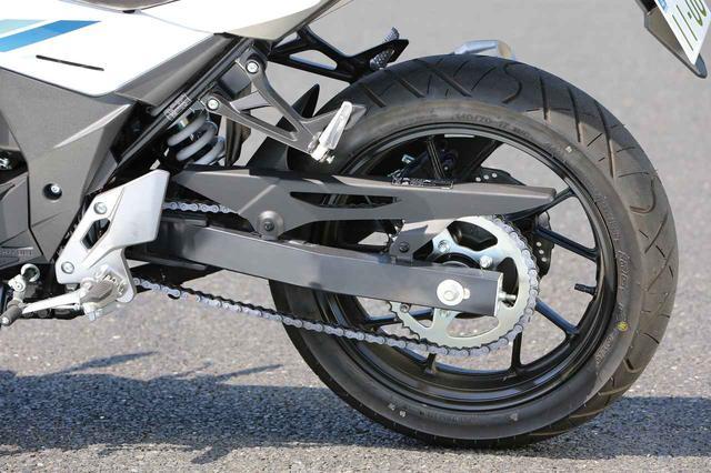 画像: Same as GSR, 7 ways adjustable rear mono shock. Petal brake disc. www.autoby.jp