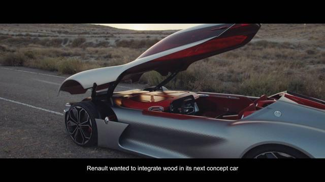 画像: Inside TREZOR: Structure en bois, par Till Breituss, prototypiste à Keim Cycles I Renault youtu.be