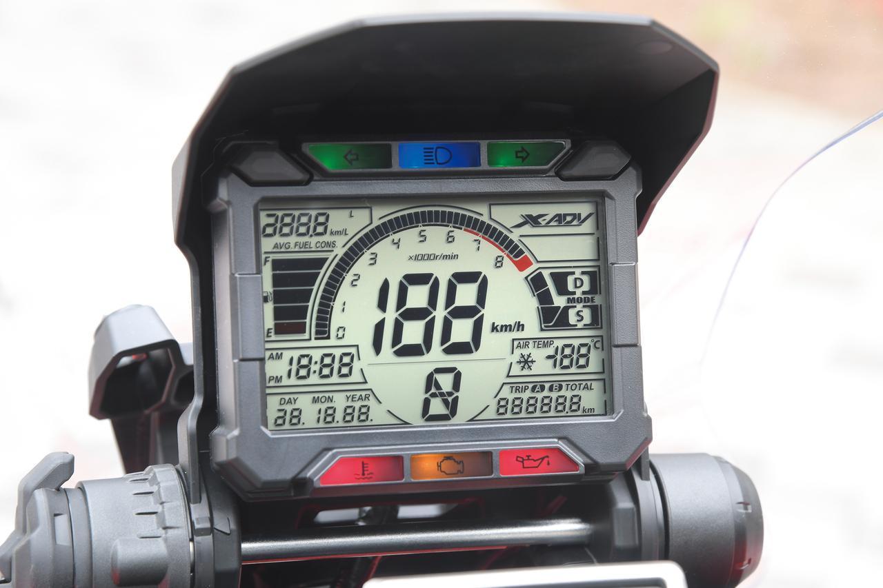 画像: Small but enough, indicator panel shows all the information needed. www.autoby.jp