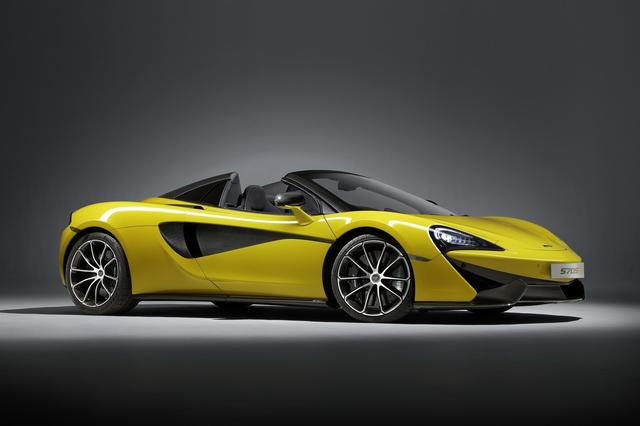 画像: The McLaren 570S Spider is Perfect for this Summer