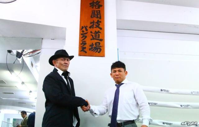 画像: 鈴木みのるが伝統の看板を北岡悟に授与【パンクラス】