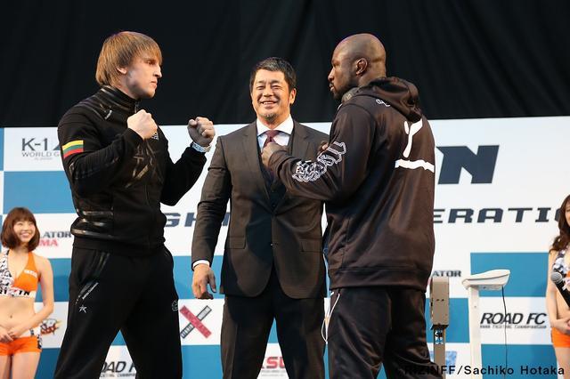 画像3: 31日「IZAの舞」出場選手が「格闘技EXPO」にて公開計量