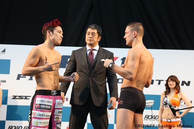 画像13: 31日「IZAの舞」出場選手が「格闘技EXPO」にて公開計量