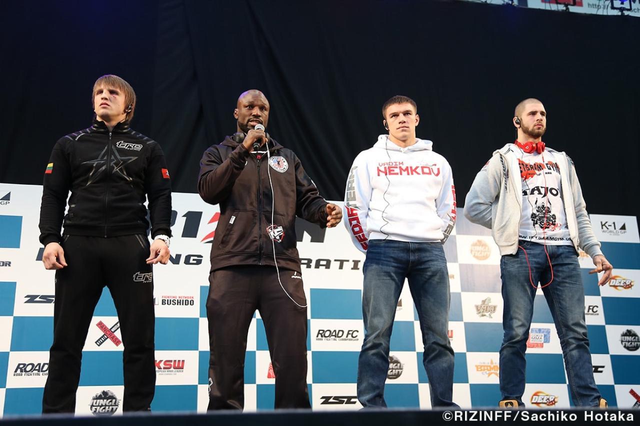 画像17: 31日「IZAの舞」出場選手が「格闘技EXPO」にて公開計量