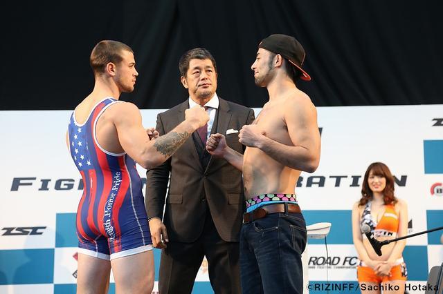 画像5: 31日「IZAの舞」出場選手が「格闘技EXPO」にて公開計量