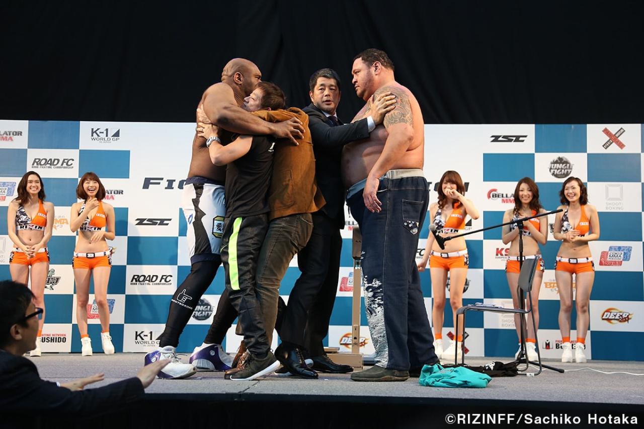 画像12: 31日「IZAの舞」出場選手が「格闘技EXPO」にて公開計量