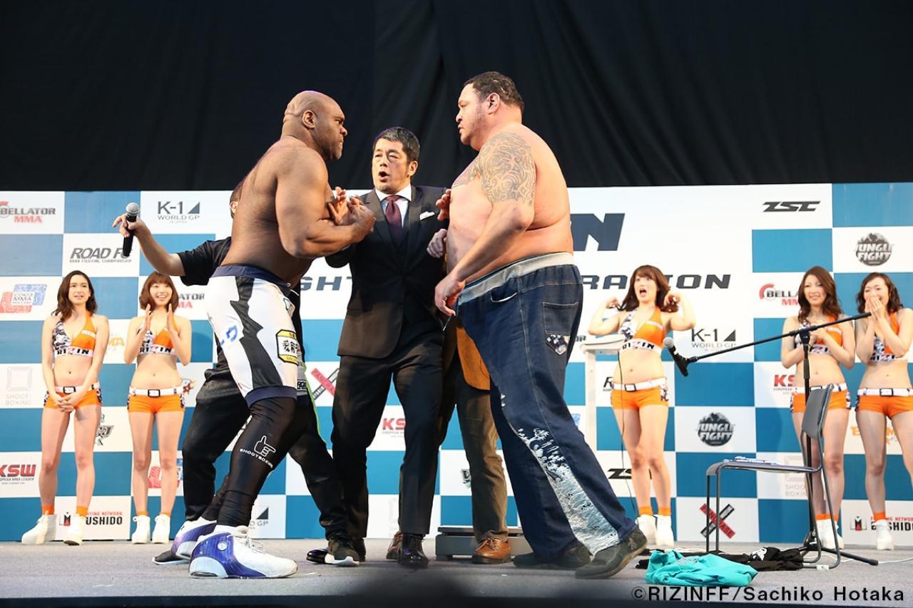 画像11: 31日「IZAの舞」出場選手が「格闘技EXPO」にて公開計量