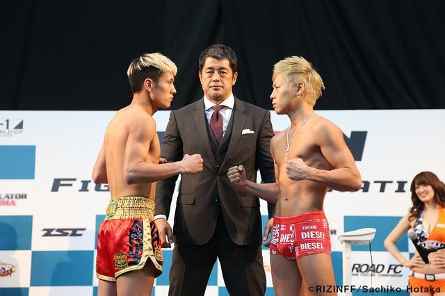 画像6: 31日「IZAの舞」出場選手が「格闘技EXPO」にて公開計量