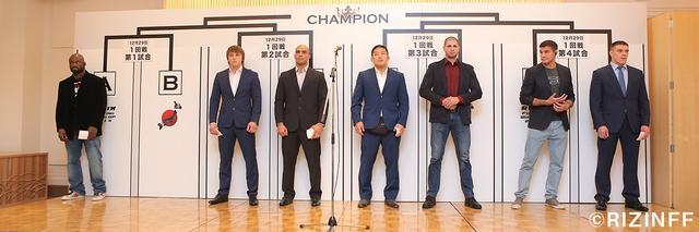 画像1: 11月30日記者会見レポート~ 「RIZIN FIGHTING WORLD GRAND-PRIX 2015」1回戦の組み合わせが決定!