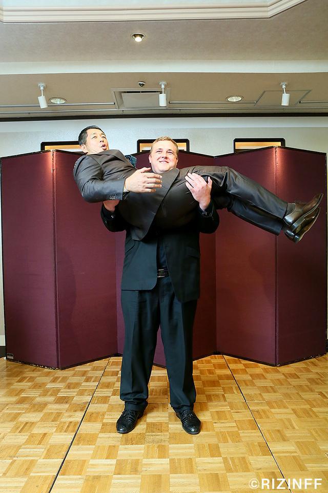 画像5: 元大相撲力士・把瑠都ことホーヴェルソン・カイド選手がRIZINに参戦決定!!