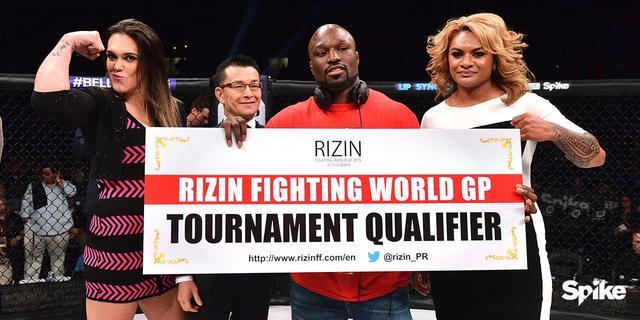 画像1: RIZINトーナメントにキング・モー参戦、ギャビの対戦相手はレイディー・タパに決定!