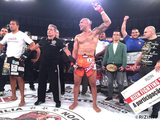 画像2: RIZIN FIGHTING WORLD GRAND-PRIX 2015トーナメントへのエントリー第1号が決定! 熱闘熱戦のJUNGLE FIGHT82をブラジル・サンパウロから現地レポート!