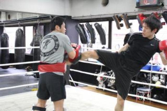 画像: 【K-1】山崎陽一&秋元和也が公開練習 4.24 代々木大会