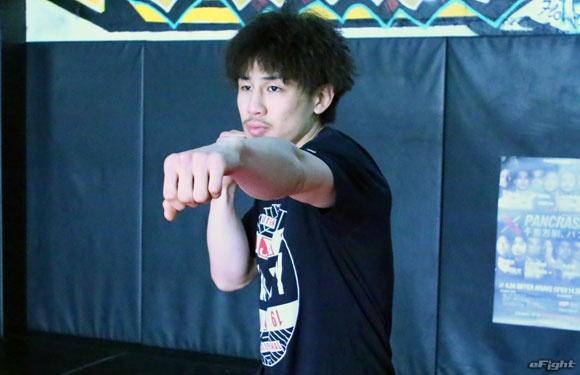 画像: 【パンクラス】「打撃で勝負」矢地祐介 公開練習 4.24有明大会