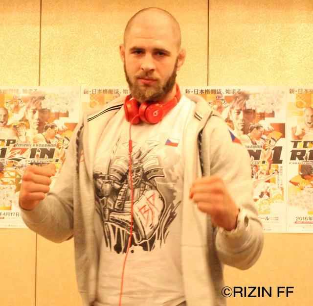 画像: ◼︎イリー・プロハースカ「年齢差は気にしていません完全に勝利を狙います」 第14試合 スペシャルワンマッチ(MMAルール 110kg契約)vs 藤田和之