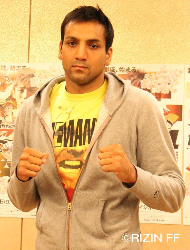画像: ◼︎シング・心・ジャディブ「相手は関係なく自分のスタイルで勝ちにいきます」 第12試合 スペシャルワンマッチ(MMAルール 98kg契約)vs テオドラス・オークストリス