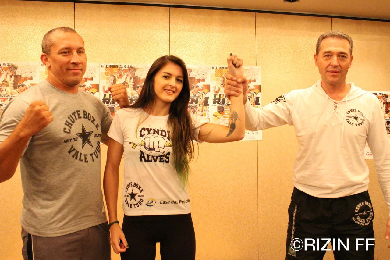 画像: ◼︎シンディ・アルベス 第9試合 スペシャルワンマッチ(シュートボクシングルール 51kg契約)vs RENA