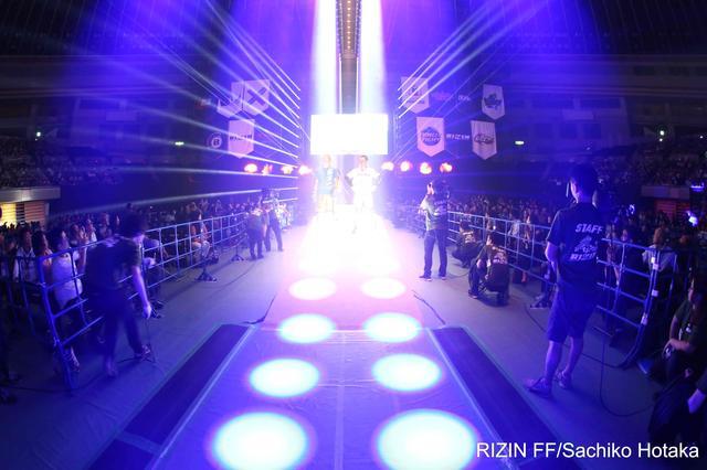 画像: 4月17日(日)愛知県・日本ガイシホールで開催された『トップ Presents RIZIN.1』のフジテレビ地上波放送が決定。
