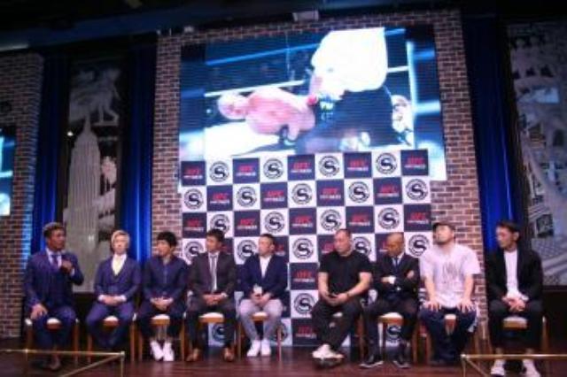 画像: [NEWS - 修斗] UFCファイトパスで生中継。川尻達也、水垣偉弥らも祝福:4.23 舞浜