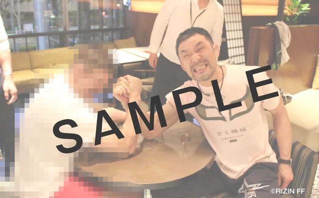 画像2: RIZIN FF オフィシャルファンクラブサイト強者ノ巣(仮)内のPHOTOページにて、RIZIN.1の舞台裏画像を公開中。