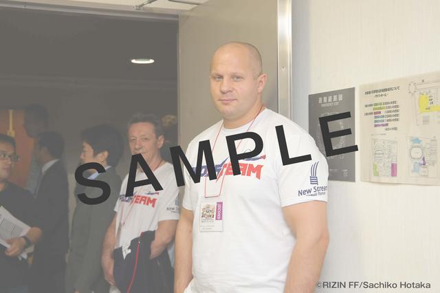 画像1: RIZIN FF オフィシャルファンクラブサイト強者ノ巣(仮)内のPHOTOページにて、RIZIN.1の舞台裏画像を公開中。
