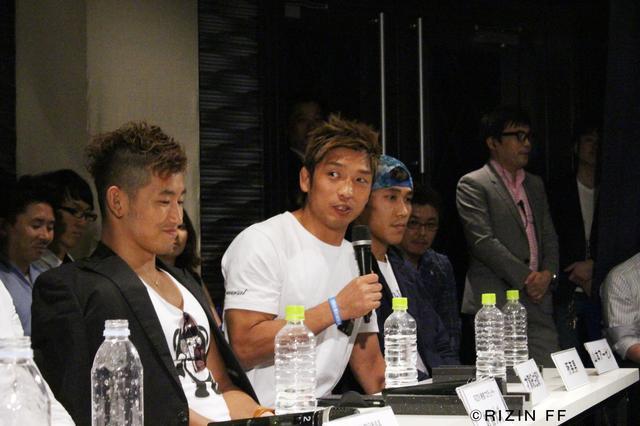 画像3: RIZIN FF ファンクラブイベント 『第1回マッチメイク会議』レポート