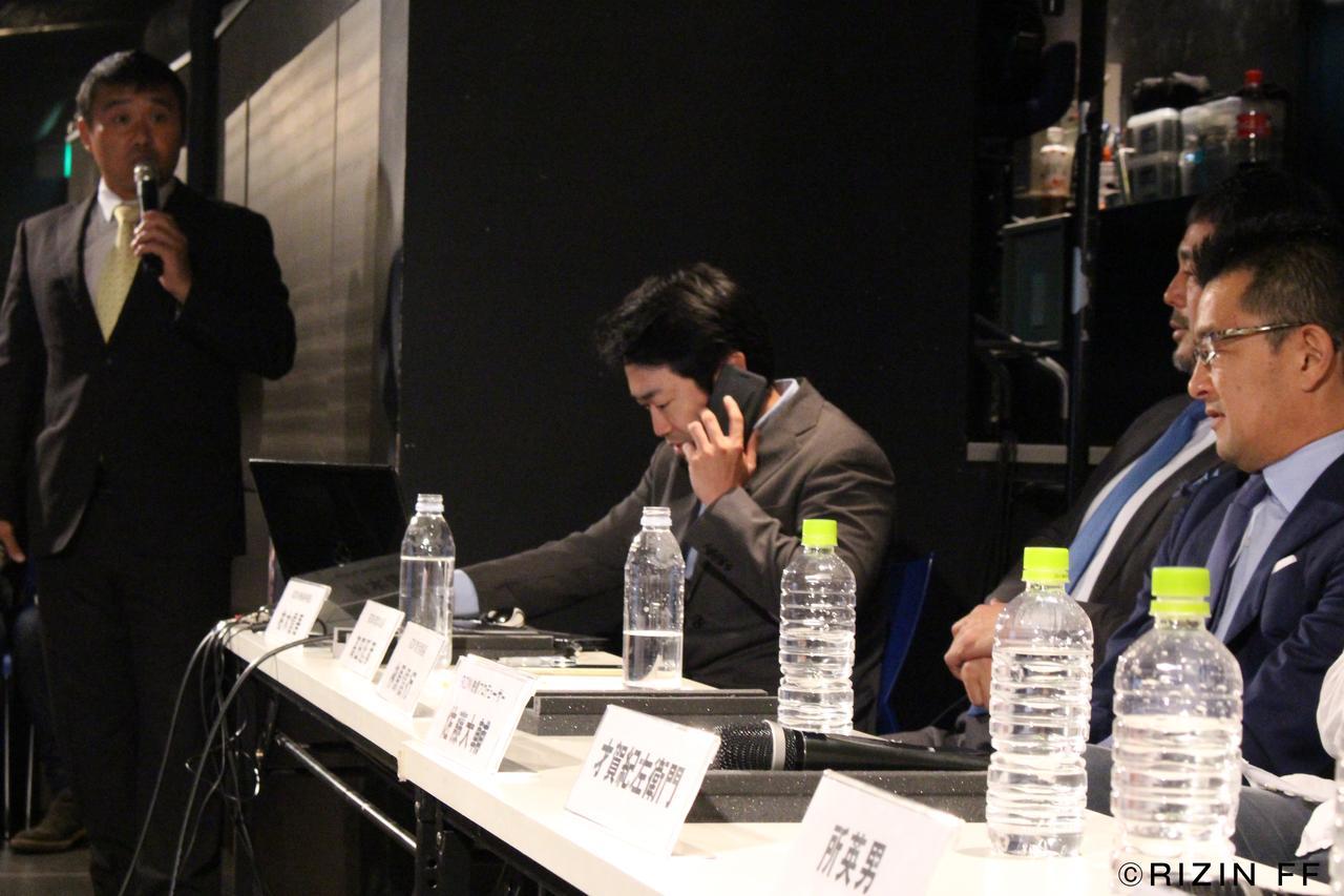 画像2: RIZIN FF ファンクラブイベント 『第1回マッチメイク会議』レポート