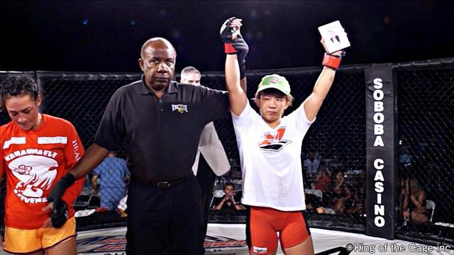 画像: 村田夏南子 勝利(3R 3分43秒 TKO)