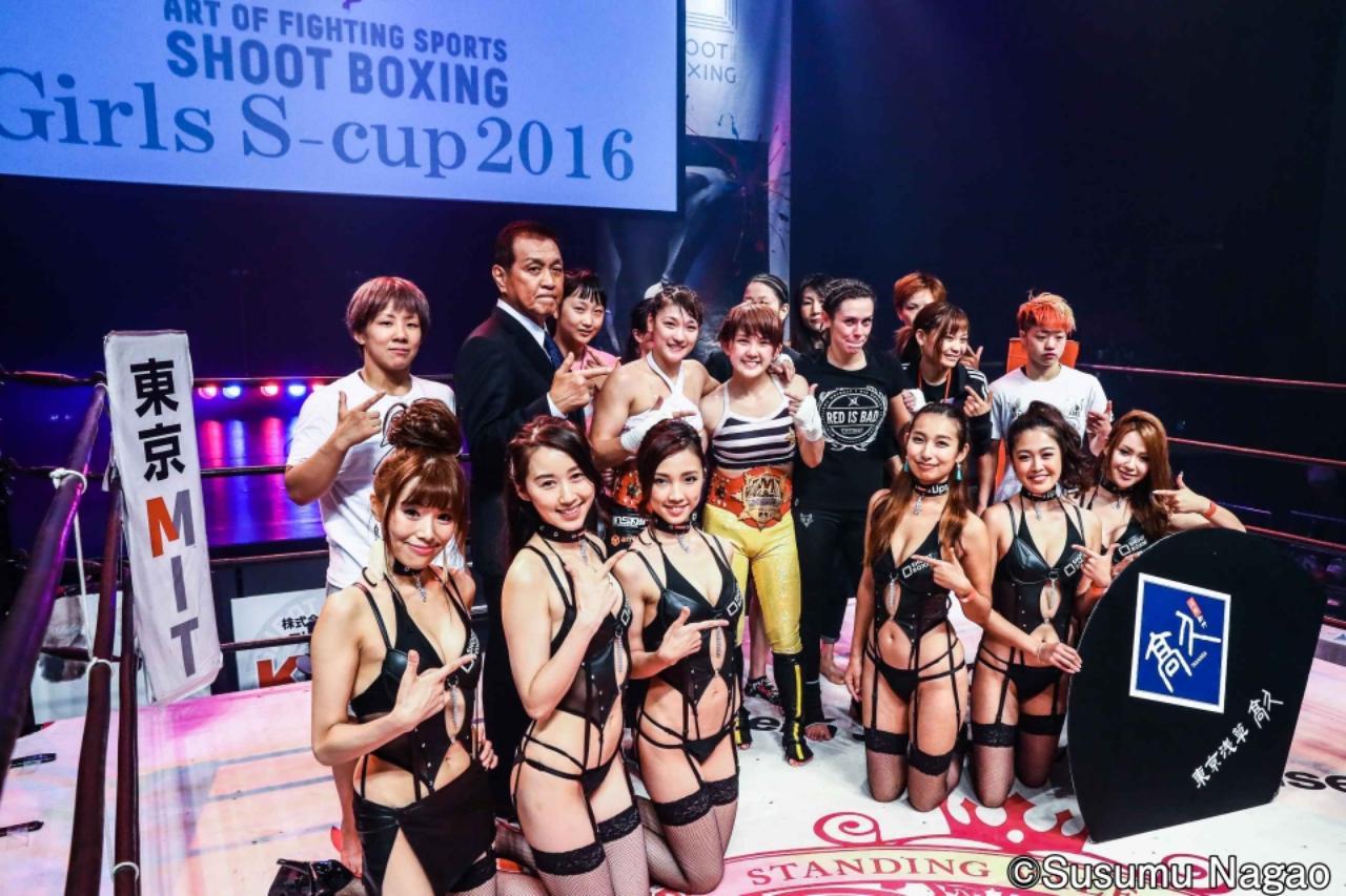 画像1: 村田夏南子3連勝! 1R1分17秒、TKO勝利‼︎