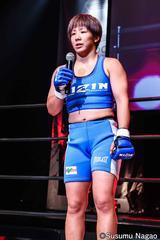 画像5: 村田夏南子3連勝! 1R1分17秒、TKO勝利‼︎