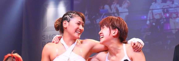 RENA完勝 MIOはトーナメント連覇 7.7豊洲試合結果 【シュートボクシング】