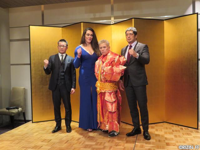 画像2: 緊急!! ギャビ・ガルシア選手と『第1回 RIZIN女子会』を開催!