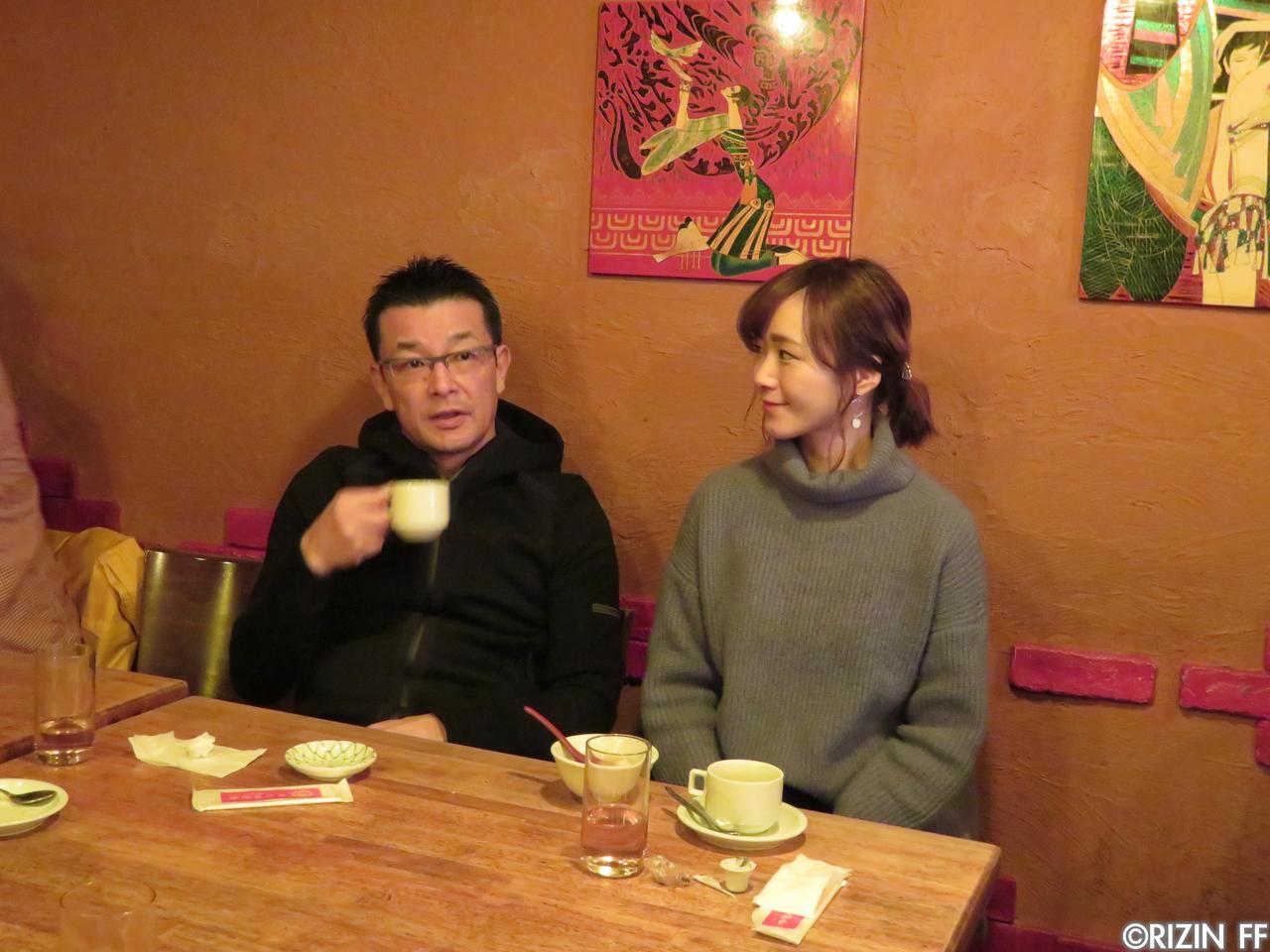 画像2: 第1回 RIZINランチミーティング 榊原信行 VS. 強者ノ巣会員!?