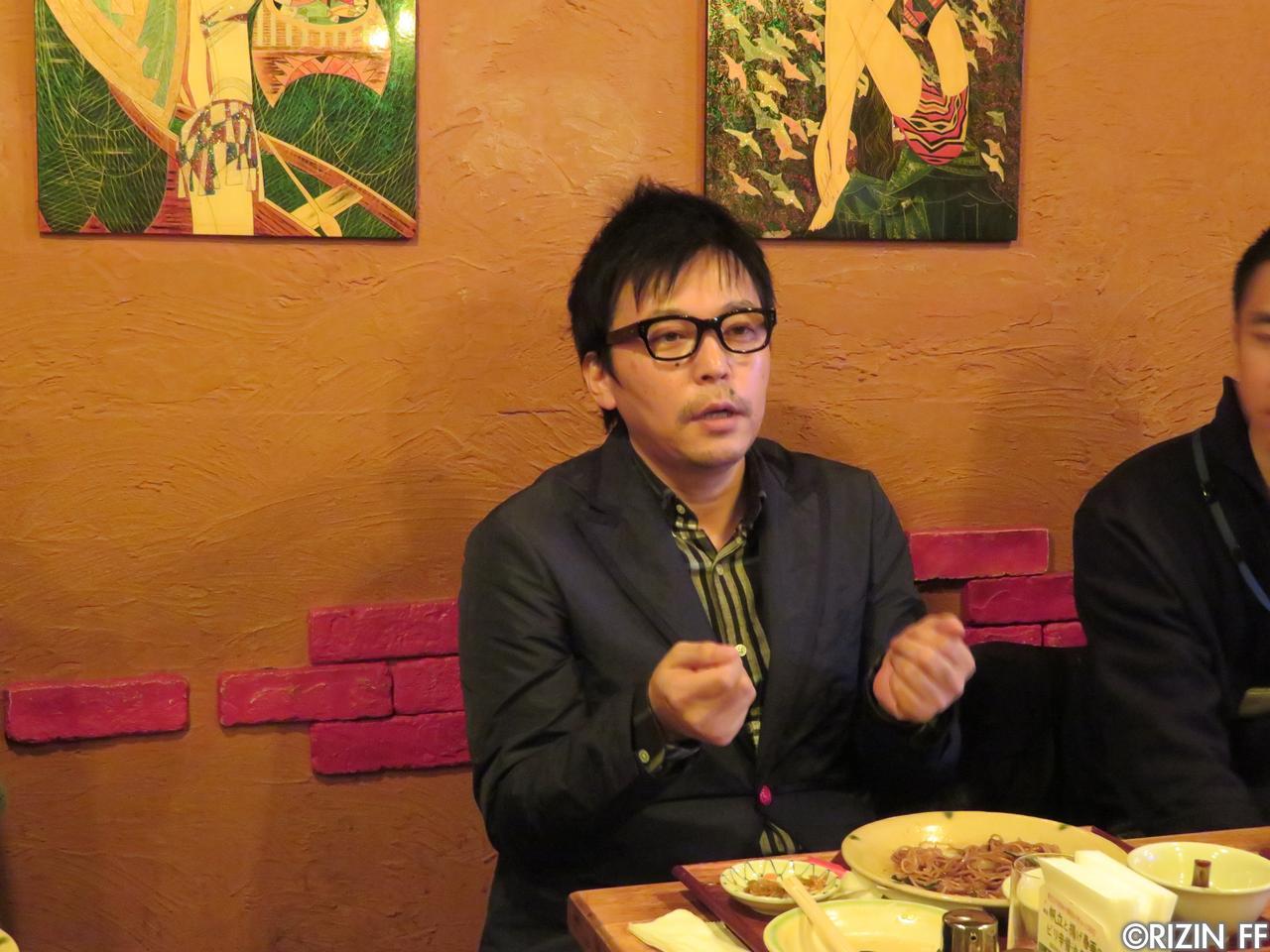 画像3: 第1回 RIZINランチミーティング 榊原信行 VS. 強者ノ巣会員!?