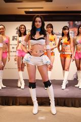 画像10: RIZINガール 7人の新メンバー! 無差別級トーナメントのトロフィー&ベルトお披露目!!
