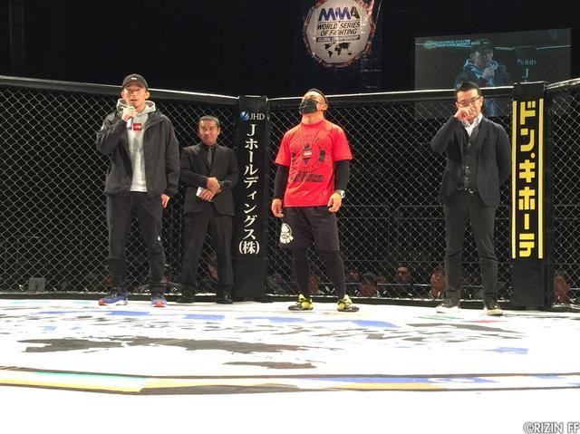 画像2: 北岡、和田がホームのDEEPで強く勝利宣言!