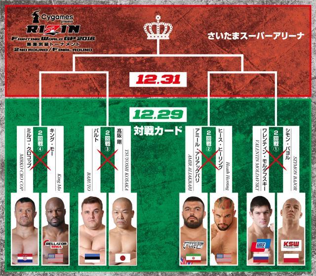 画像3: 第1試合:北岡悟 vs. ダロン・クルックシャンク